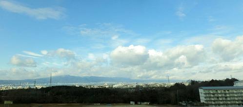 比叡山と琵琶湖パノラマ