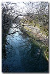 白雲橋から西側・・・八幡掘