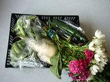 朝市の野菜
