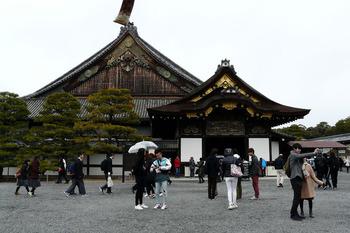二の丸御殿の玄関