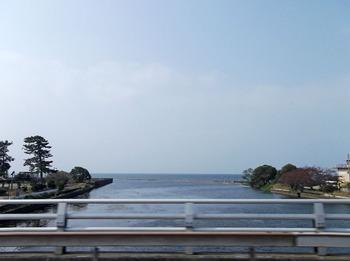 バスの中から琵琶湖NO1