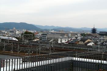 東寺五重塔 新幹線