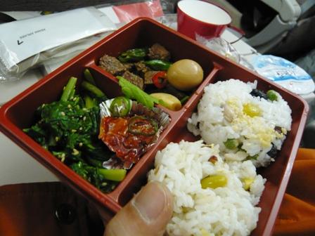 アシアナ航空の機内食(復路)4