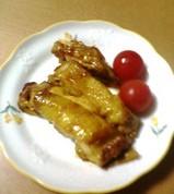 鶏肉の照り焼き(カレー風味)