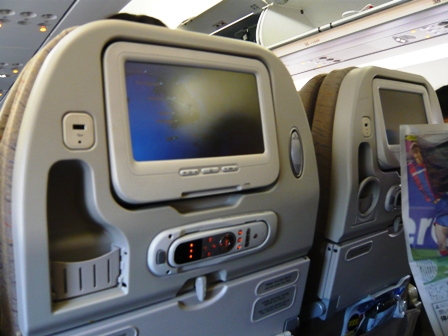 アシアナ航空の機内食(復路)1