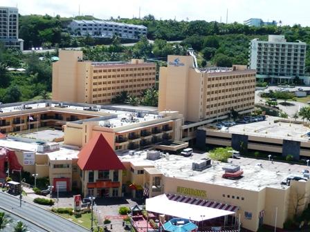 グアムプラザホテルビュー