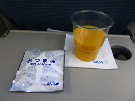 ANA機内食(復路)1