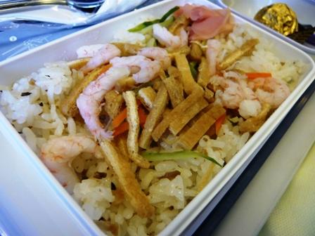 大韓航空の機内食(復路)2