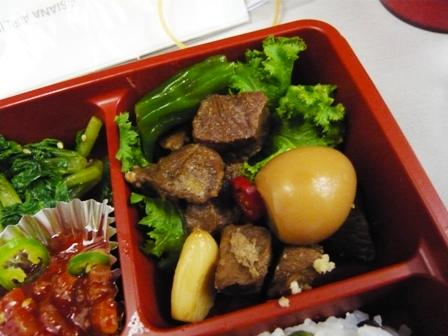 アシアナ航空の機内食(復路)7