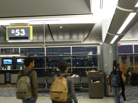 マッカラン空港(復路)7
