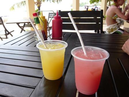 パイナップル&グァバジュース
