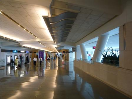 サンフランシスコ空港(復路)1