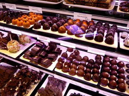 チョコレートコーナー