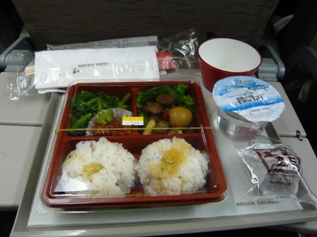 アシアナ航空の機内食(復路)3