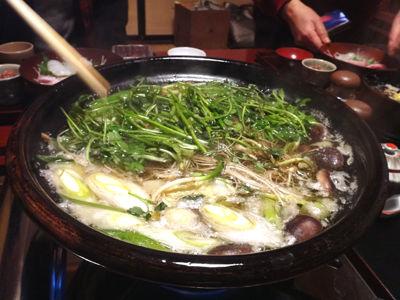 能登郷土料理きじ鍋