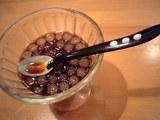 デザート黒砂糖汁粉.JPG