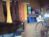 自然色の糸