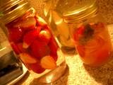 イチゴ&柿