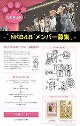 アイドル ネコ「ねこぶNKB48」メンバー募集