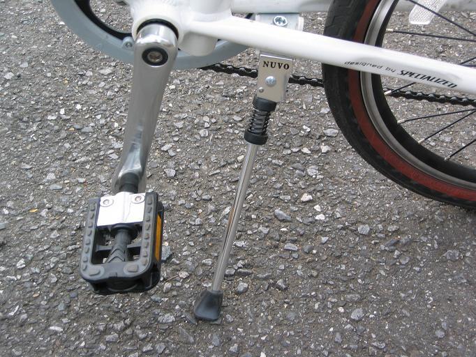 自転車の 自転車 パーツ 名称 : キックスタンド/ペダル ...