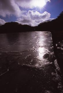 八丁池 氷結