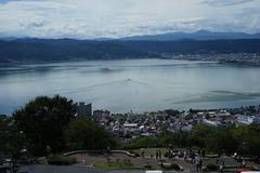 諏訪湖遠景