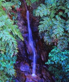 朝日スーパーラインの小滝