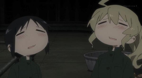 【少女終末旅行 7話 感想】 調理こそ文明の煌めき。 二人のとろけ顔が可愛すぎるww