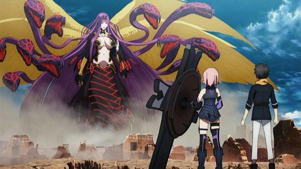【Fate/Grand Order-絶対魔獣戦線バビロニア- 7話 感想】  母上デカすぎィッッ!!!