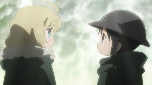 【少女終末旅行 12話 感想】 世界が滅んだってお互いがいる! 絶望と仲良くなれる最高のラストだった。 2期をいつまでも待とう…