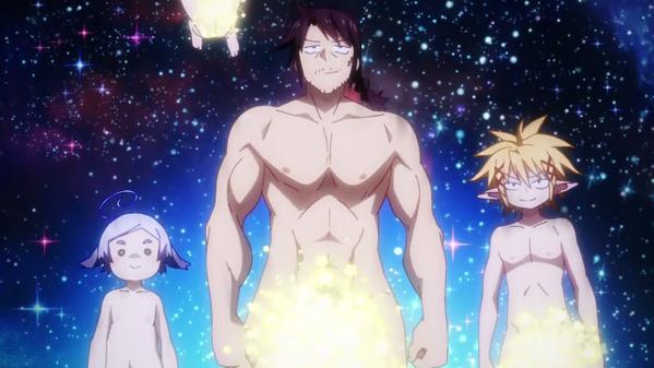 【異種族レビュアーズ 6話 感想】  裸で各方面に喧嘩売るアニメ・・・強すぎる・・・