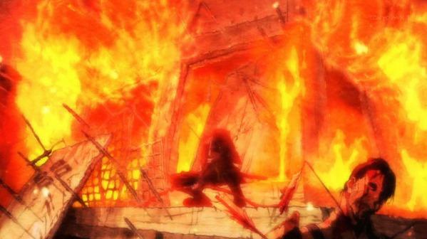 【アンゴルモア元寇合戦記 4話  感想 のみ】 故郷は焼かれるもの