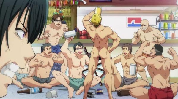 【ぐらんぶる 1話 感想】 アルコールと全裸が90%を占める男のアニメが始まったな