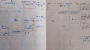 時間が貯まる!スケジュール帳の書き方・作り方