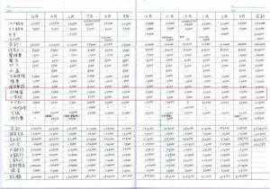 家計簿の教育費(年間)