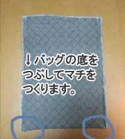 シューズバッグ(上履き入れ)の作り方