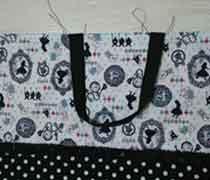 通園通学バッグ持ち手を縫う方法(手縫いもOK)