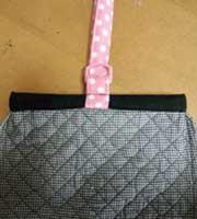 シューズバッグの袋口の作り方