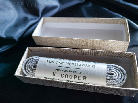 VINCENT SHOELACE H.COOPER ヘザーグレー