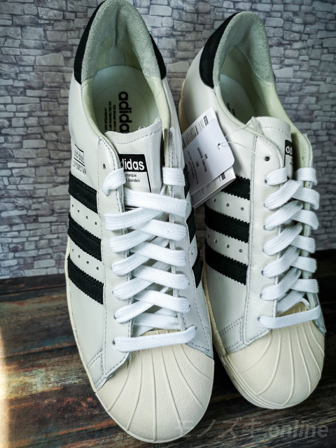 adidas SUPERSTAR RECON 立てかけ