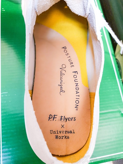 P.F.Flyers insole Universal Works Color
