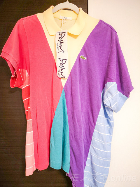 BONUM TOKYO リメイクポロシャツ