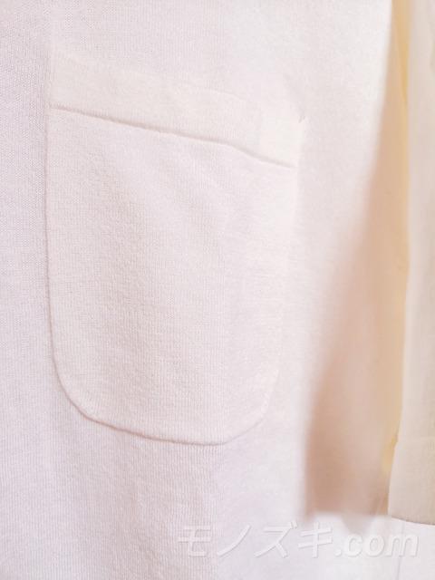 crepuscule ニットT 胸ポケット