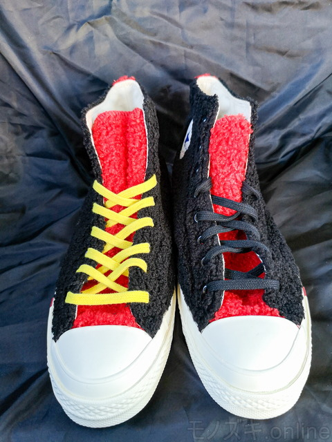 KITH×Disney×CONVERSE 70s 色違いの靴紐
