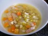 お豆のスープ