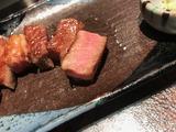 精進落としで肉。