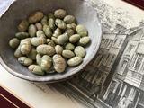 煎り青大豆。
