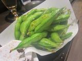 枝豆ガーリック炒め。