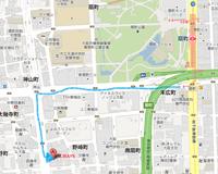 梅田ALWAYS 市営地下鉄 扇町駅5番出口からのmap