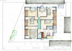 米田建築士シェアハウスプラン2F6Room
